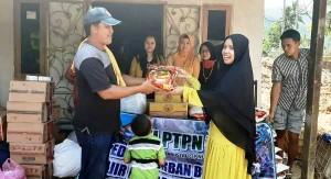 IKI PTPN VII Beri Bantuan Korban Banjir