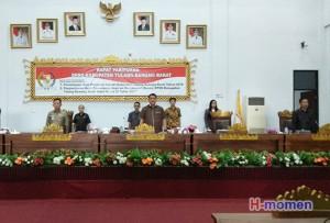 DPRD Setuju Pemkab Tulangbawang Barat Utang Rp128,5 Miliar