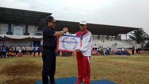 Kontingen KAI Divre IV Juara Umum II PORKA 2018