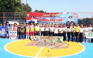Polres Lamtim Gelar Turnamen Futsal