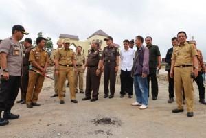 TP4D Kejati Lampung Pantau Pembangunan Di Lambar