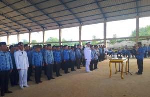 Bupati Mesuji Lantik 106 Pejabat