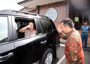 Kunker Kapolri Ke Lampung Hanya  Bersifat Internal