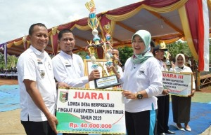 Desa Nibung Wakili Lamtim Lomba Desa Tingkat Provinsi Lampung