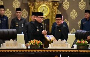 DPRD Waykanan Sahkan LPj APBD Tahun 2018
