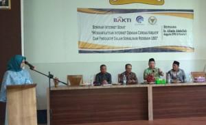 Kemenkominfo Seminar Internet Sehat Di Tubaba