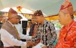 Tokoh Lamsel Terima <i>Adok</i> Dari <i>Kebandaran Way Urang Makhga Legun</i>