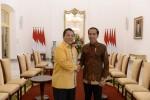 Arinal Bersama Ketua DPD Golkar Se-Indonesia Bertemu Jokowi