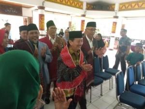Herman Hadiri Halalbihalal Muslim Batak Toba