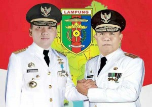 Ridho-Bachtiar Maju Pilgub Lampung