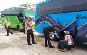 Belasan Bus Angkutan Lebaran Belum Layak Beroperasi