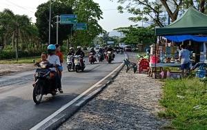 Sepeda Motor Dominasi Jalur Mudik Di Lintas Sumatera