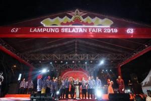 Plt Bupati Buka Lampung Selatan Fair 2019.