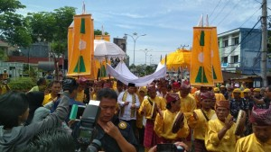 Arinal-Nunik Resmi Daftar Ke KPU Lampung