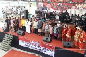 Arinal-Nunik Hadiri Deklarasi Relawan Jokowi Pamala Ujo