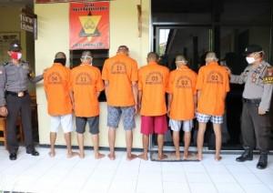 Kasus Narkoba, Enam Warga Pringsewu Ditangkap Polisi