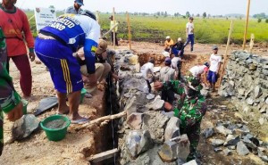 Pembukaan TMMD Di Tulangbawang Bareng HUT Bhayakara