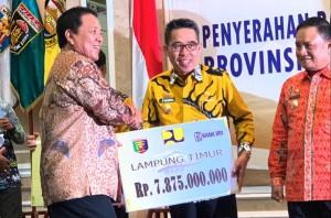 Lampung Timur Terima Bantuan Stimulus Perumahan Rp7,8 Miliar