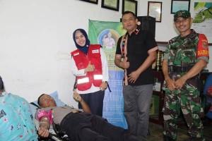 Donor Darah, PTPN VII Wayberulu Bangun Harmoni Sesama