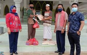 Baznas Tuba Salurkan Bantuan Sembako
