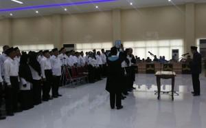 KPU Bandarlampung Lantik 378 Anggota PPS