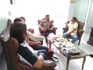 PWI Terima Kunjungan Polda Lampung