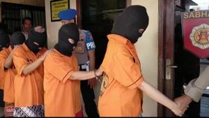 Enam Pencuri Di Mal Boemi Kedaton Dibekuk
