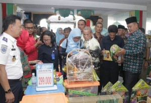 Tim Terpadu Pemkab Pringsewu Sidak Pasar
