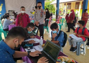 Vaksinasi Covid-19 Di Pringsewu Sasar Pelajar SMP