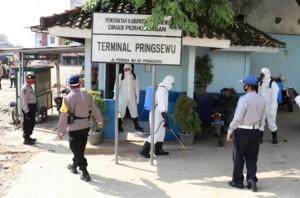 Satgas Aman Nusa Siap Songsong New Normal Di Pringsewu