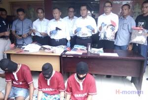 Polda Lampung Bekuk Spesialis Pembobol Rumah Kosong