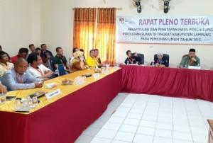 KPU Lamtim Targetkan Sehari Lima Kecamatan