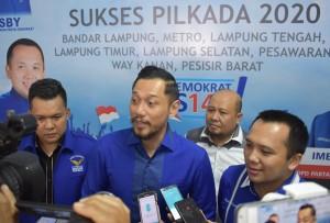 Pilkada 2020, AHY Sebut Petahanan Demokrat Lampung Potensial
