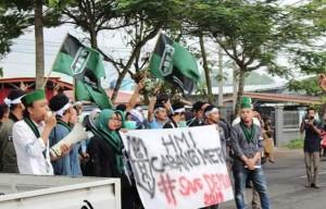 HMI Kota Metro Demo KPU