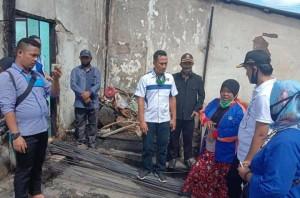 Kunjungi Pasar Kebakaran, Wabup Tulangbawang Berempati Dan Motivasi Pedagang