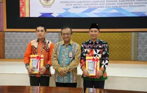 Lampung Barat Terima WTP Kesembilan