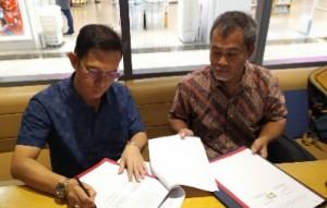 Krui Pro, Dispar Pesibar Dan PSOI Jalin Kerjasama