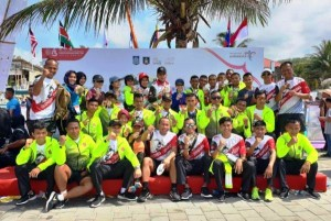5 Altet TNI Lampung Ikut Lomba International Marathon Di NTB