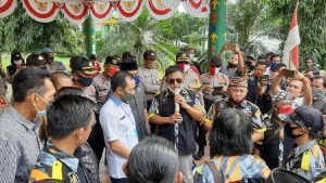 GMBI Lampura Demo Tolak RUU HIP Di DPRD