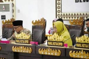 Sidang Perdana, DPRD Bandarlampung Tetapkan Tujuh Ketua Fraksi