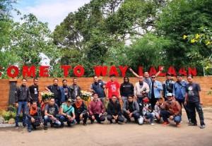 Baporkes IPC Panjang Gelar Touring Ke Way Lalaan