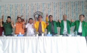 Pilkada Waykanan, Lima Parpol Nonparlemen Deklarasi Dukung Petahana
