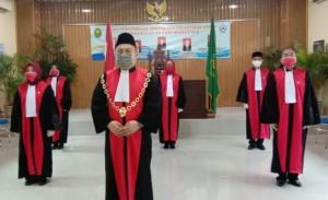 Ketua PN Menggala Lantik Lima Hakim Baru