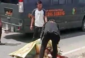 Kecelakaan Lalu Lintas, Warga Bandarjaya Tewas Di Menggala