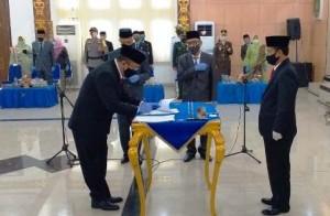 Lekok Dilantik Jadi Sekda Lampung Utara