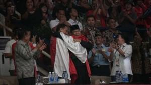 Ketika Atlet Pencak Silat Berhasil Satukan Jokowi Dan Prabowo