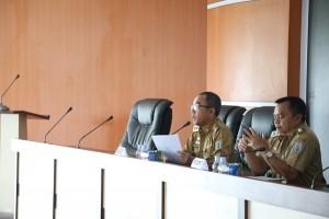 Pimpinan SKPD Waykanan Teken Perjanjian Kinerja Pejabat