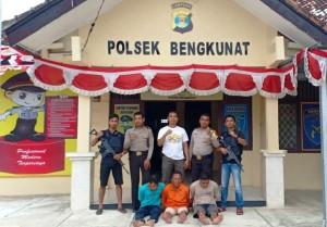 Polsek Bengkunat Bekuk Komplotan Pencuri Ternak