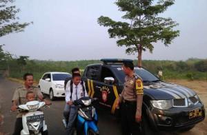 Polisi Patroli Di Jalan Alternatif Rawan Ganguan Kamtibmas