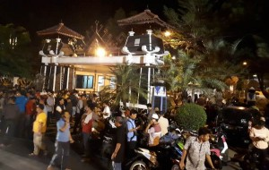 Heboh Informasi OTT, Rumdis Bupati Dipasang Segel KPK